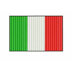 ITALY Flag Embroidery Design