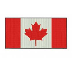 CANADA Flag Embroider Design