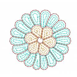 Outline Machine Embroidery Design