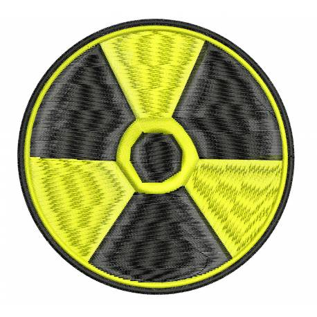 Radioactive Machine Embroidery Design