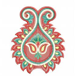 Butta Embroidery Freebie