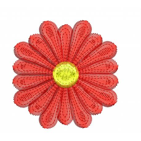 Free Floral Embroidery Design