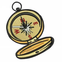 Vintage Compass Designs for Machine Embroidery
