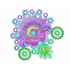 New 2020 Flora Machine Embroidery design_Embroideryshristi