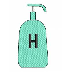 HandWash Embroidery Design For Covid 19