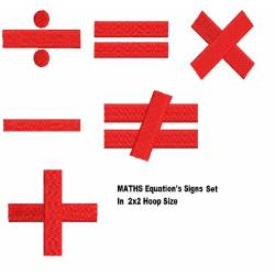 Math's Equation Signs Set
