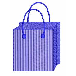 Shopping Bag Machine Embroidery Design