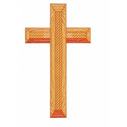 Christian Cross With Blocking Effect