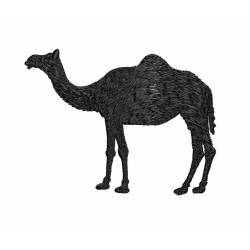Camel Silhouette Machine Embroidery Design