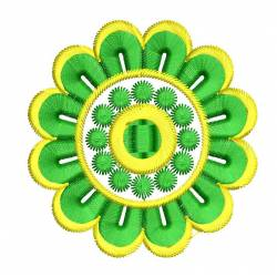 Latest Flower Machine Embroidery Design