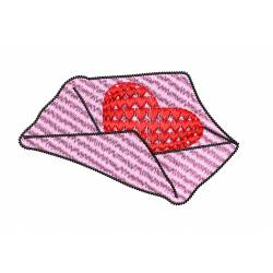 Love Latter Embroidery Design