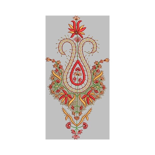 Daman new embroidery design