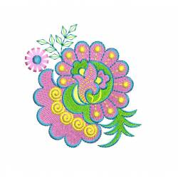 New & Beautiful Floral Machine Embroidery3
